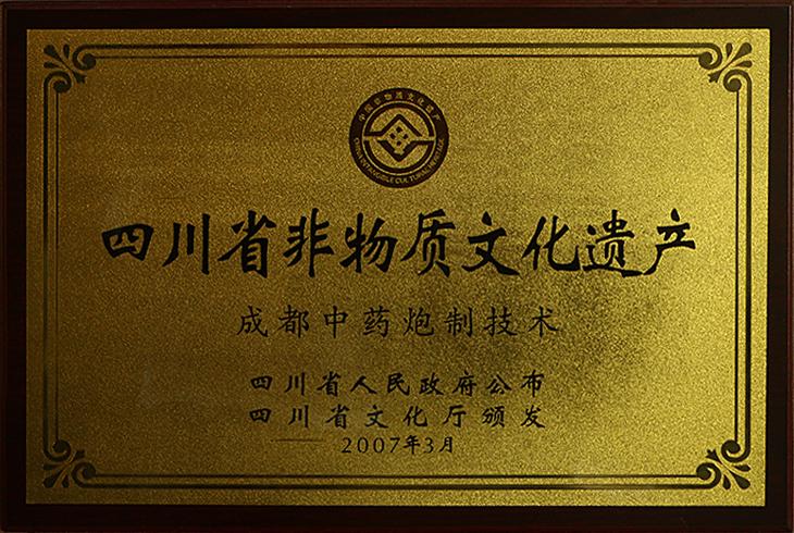 成都润馨堂药业-国家级非物质文化遗产传承中心