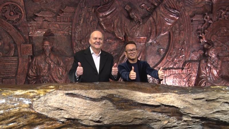 美国天然产品联盟(UNPA)主席Loren Israelson先生到访润馨堂图片